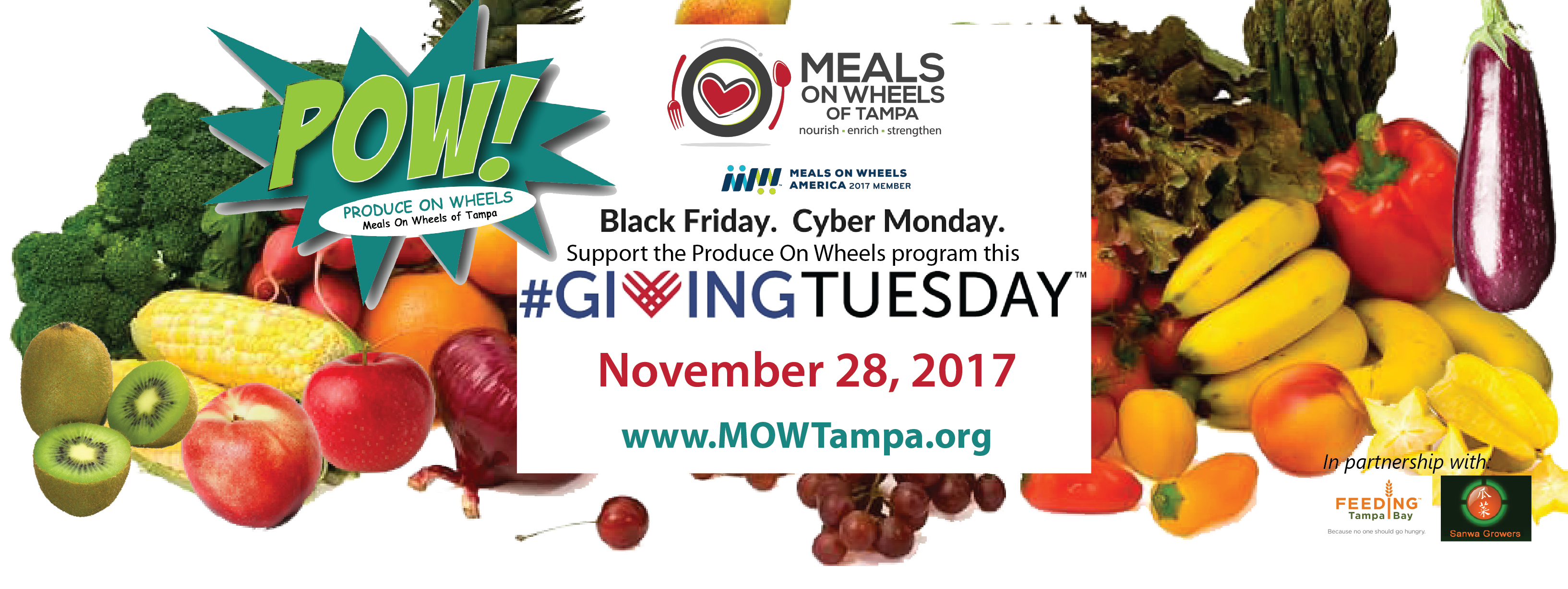 Givingtuesday meals on wheels of tampa give the gift of fresh produce this giving season negle Choice Image