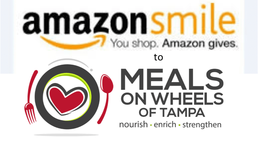 amazon smile logo with ours