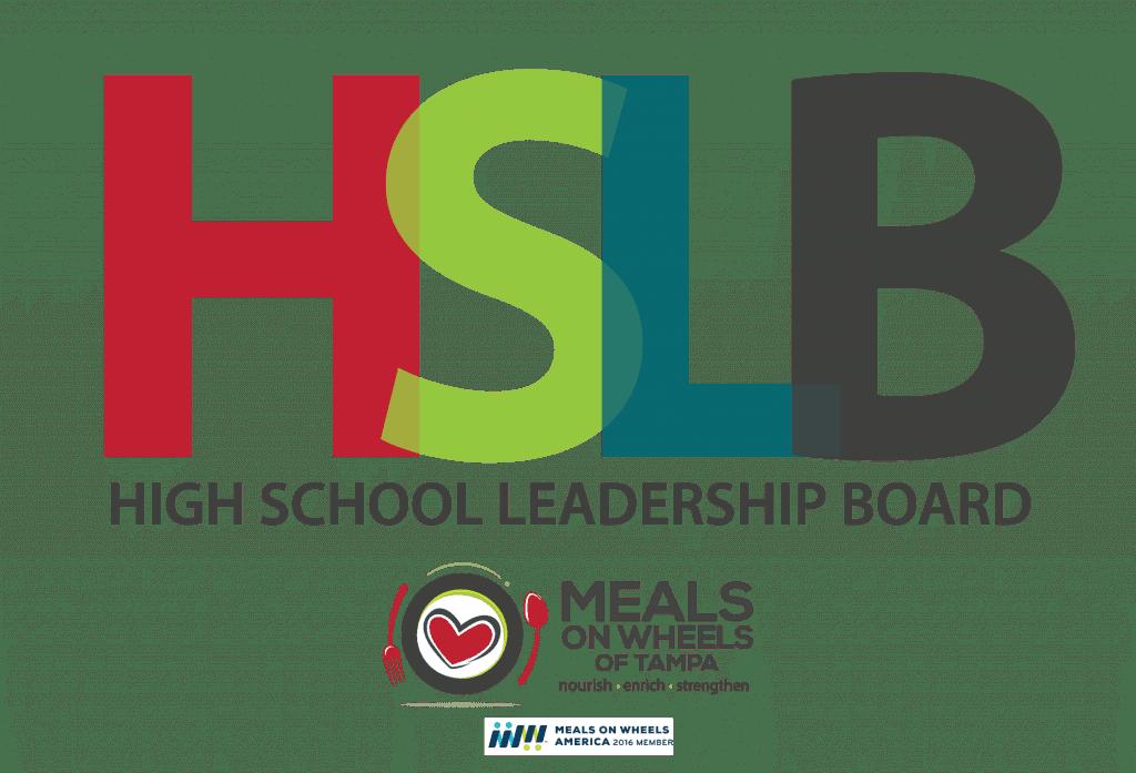 Logo for high school leadership board