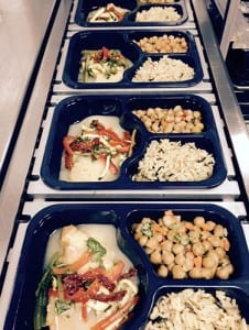 Daily hot meals.